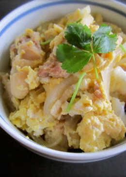 日式親子丼 Chicken and Egg Rice Bowl(OYAKO-DON)