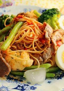 韓式鮮蔬牛肉冷麵
