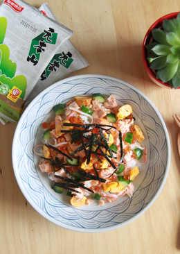 【元本山幸福廚房】鮭魚親子海苔散壽司