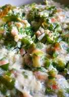 (電鍋版)韭菜蒸肉