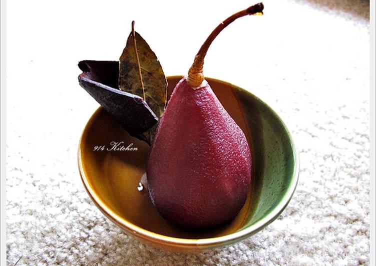 紅酒燉鴨梨.Pear Stew With Red Wine