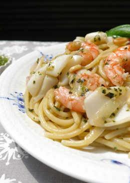鮮味青醬海鮮義大利麵