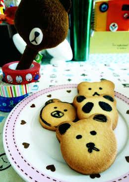 熊熊造型餅乾