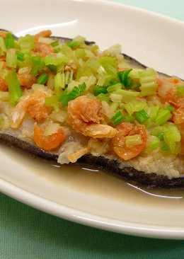 蒜茸蝦米蒸鱈魚 ♦紙包魚4