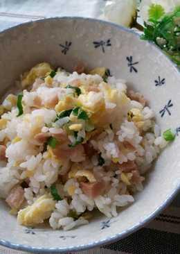 香蔥菜圃蛋炒飯 ~ 純樸的味道