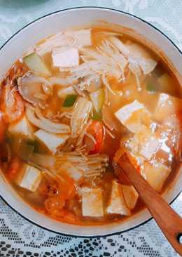 韓國海鮮豆腐鍋