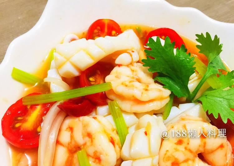 泰式涼拌海鮮 @188懶人料理