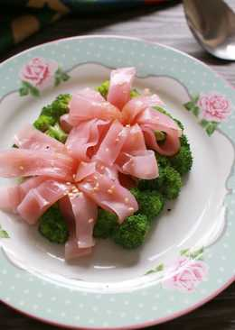 影音食譜 低卡 簡易 甜根菜腸粉 蒸氣烘烤爐 母親節料理