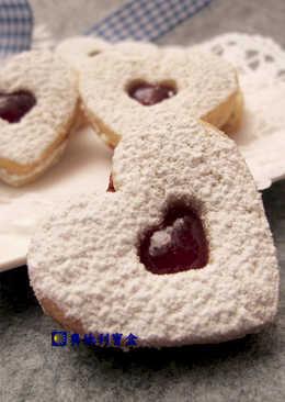 榛果心形餅乾-奧地利聖誕節傳統美食
