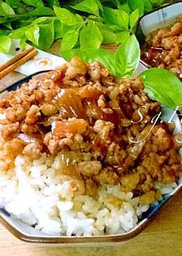 紅蔥肉燥飯