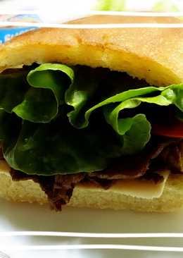 佛卡夏三明治-牛肉