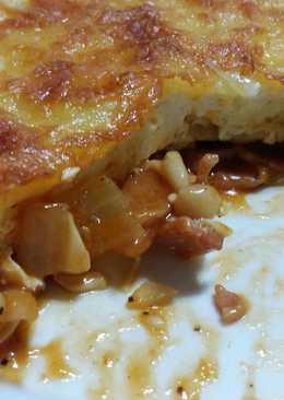 豆腐白醬焗烤菇