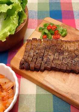 生菜包鹹豬肉 ♥ 變變鹹豬肉 4