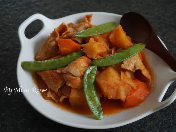 【洋風】茄汁馬鈴薯燉肉