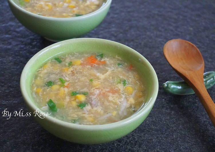 【15分鐘上桌】玉米雞肉濃湯