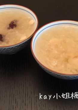 港式銀耳蘋果清潤甜湯