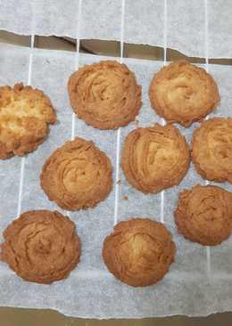 氣炸鍋食譜 原味奶酥餅乾