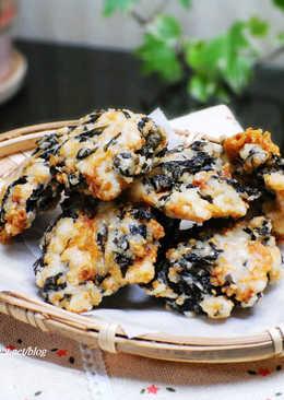 【香酥櫻花蝦海帶芽】參考食譜:一天一道,吃出聰明腦力餐