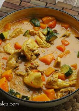 泰式咖喱雞 Thai Style Chicken Curry