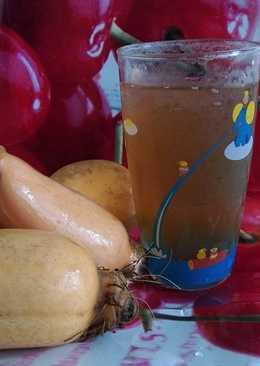 在家偷懶煮蓮藕茶來解夏日的炎熱