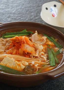 韓式泡菜味噌鍋