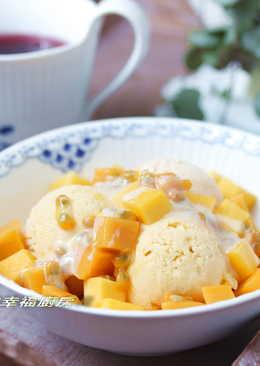 免冰淇淋機之芒果冰淇淋