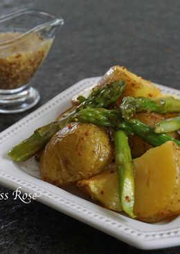 蘆筍馬鈴薯溫沙拉