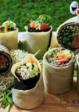 野蔬海苔捲餅