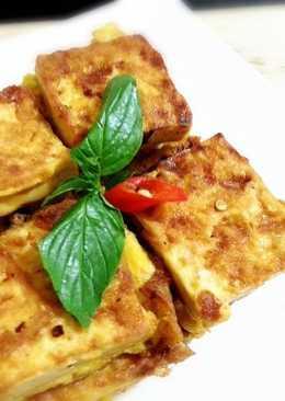 蔥燒蛋煎豆腐
