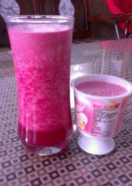 甜菜根綜合果汁