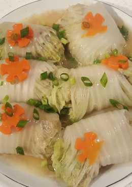 豬肉白菜卷