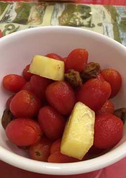 糖醋梅漬小蕃茄