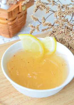 蜂蜜檸檬愛玉凍