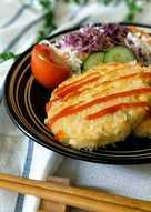 鮮蝦豆腐可樂餅