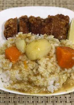 炸豬排咖哩飯(1盤份)