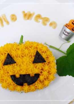 Halloween萬聖節-南瓜蛋糕飯飯