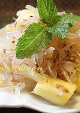 【泰式柚子菠蘿沙律】~附食譜