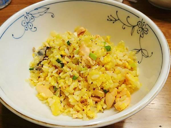 黃金鮭魚炒飯