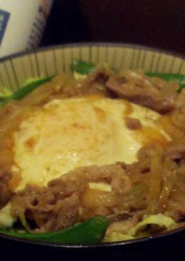 日式荷包蛋丼飯