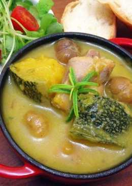 「有食候」迷迭香南瓜栗子燉雞