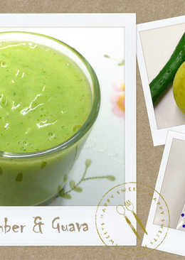 小黃瓜美顏蔬果汁 ♥可爾必思3♥