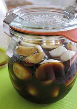 醬油漬蒜頭(蒜香醬油)