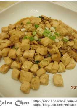 簡單味~~紅燒豆腐