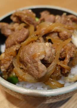薑汁燒肉。日式家常味