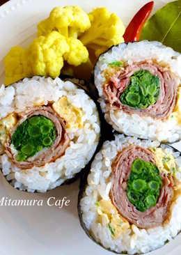 牛肉海苔壽司卷