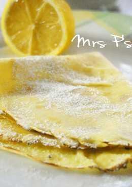 英式可麗餅/鬆餅Pancake [超簡單食譜]