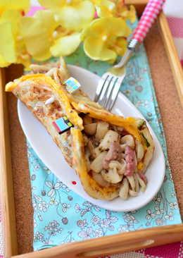 義式培根蔥油餅