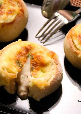 焗鮪魚白醬燕麥麵包