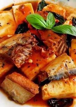 茄汁鯖魚燒豆腐