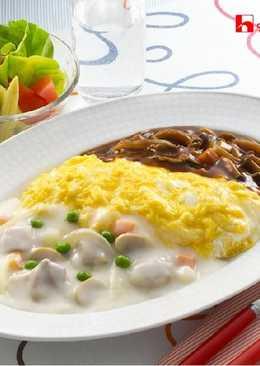 濃湯蛋包飯(奶油&燉牛肉)